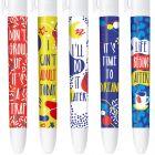 4 Couleurs Editions limitée - YOLO - You Only Live Once - Coffret de 5 stylos
