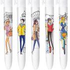 4 Couleurs Editions limitée - Frenchies - Coffret de 5 stylos