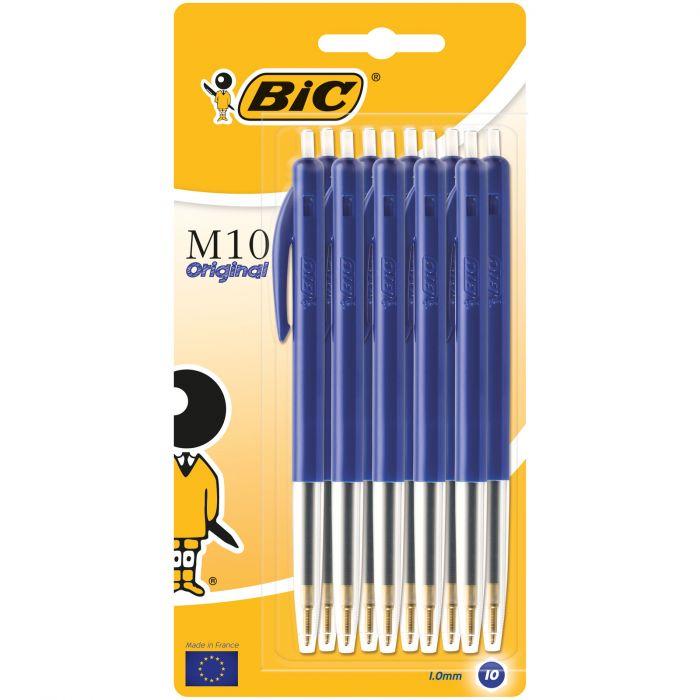 BIC M10 Original Stylos-Bille Rétractables Pointe Moyenne (1