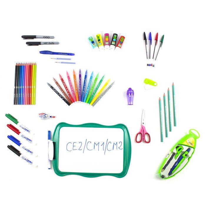 Kit rentrée scolaire CE2/CM1/CM2 droitier
