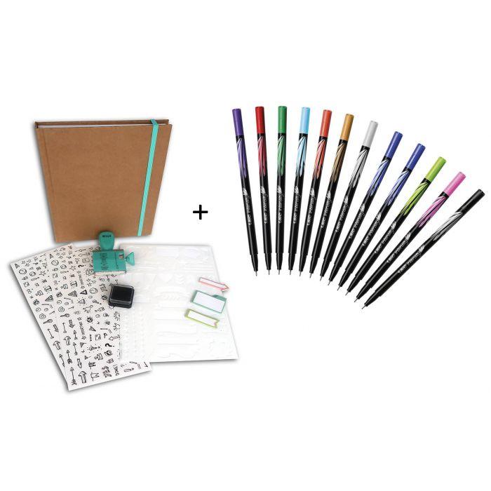 BIC TOGA KIT Bullet Journal PRO - BIC Intensity DOY pack de 12