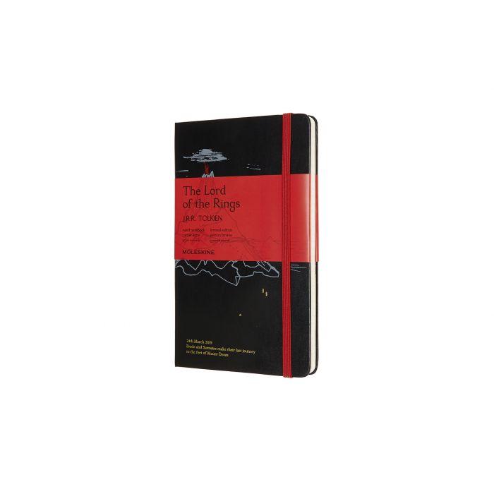 Carnet Seigneur des Anneaux en édition limitée  - Montagne du Destin - 13x21 cm - Moleskine