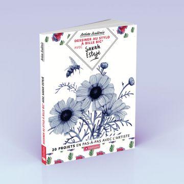 BIC 4 Couleurs Edition Limitée - Sarah Esteje - 5 stylos BIC 4 Couleurs