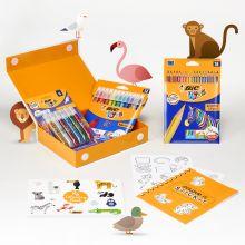 My Colouring Box BIC - Kit de coloriage - coffret cadeau