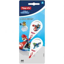 Tipp-Ex Mario Kart Mini Pocket Mouse Rubans Correcteurs 6 m x 5 mm - Décors Assortis
