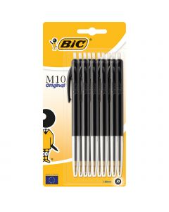 BIC M10 Original Stylos-Bille Rétractables Pointe Moyenne (1