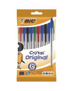 BIC Cristal Original Stylos-Bille Pointe Moyenne (1