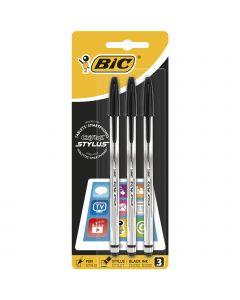 BIC Cristal Stylus Stylos-Stylet Pointe Moyenne (1