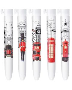 BIC 4 Colours Limited Edition London - Box of 5 Pens