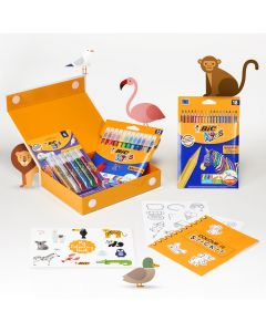 My Colouring Box BIC - Kit de coloriage - coffret cadeau