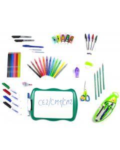 Kit rentrée scolaire CE2/CM1/CM2 gauchers