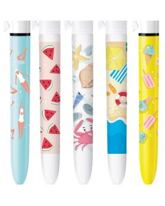 BIC 4 Colours Limited Edition Summer Time - Box of 5 Pens