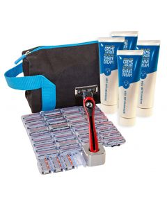 BIC Shave Club 5 Blades Neo - 1 year Full Shave Set