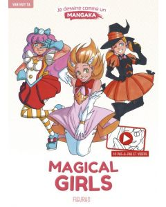 Je dessine comme un mangaka - Magical girls