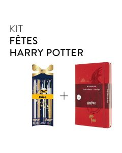 Kit fêtes Harry Potter - BIC et Moleskine