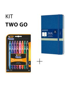 Kit two-go - BIC et Moleskine