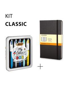 Kit Classique - BIC et Moleskine