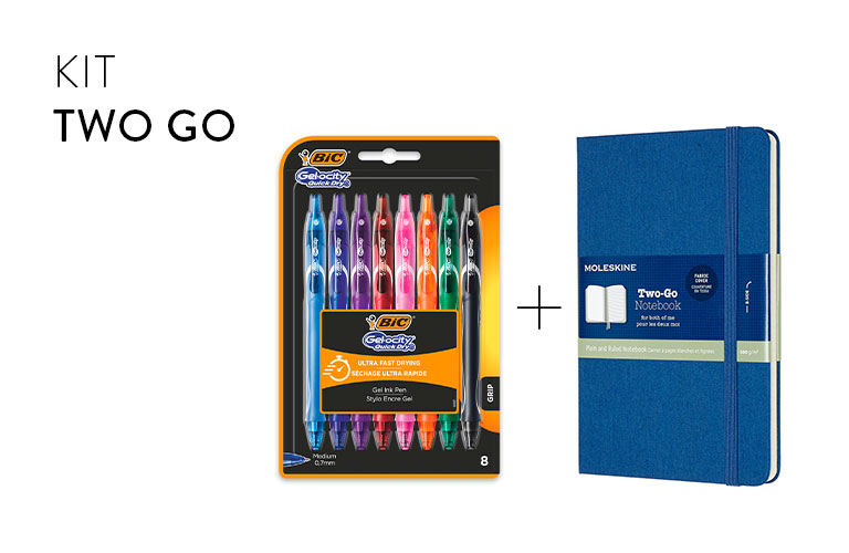 To go bundle BIC et  Moleskine