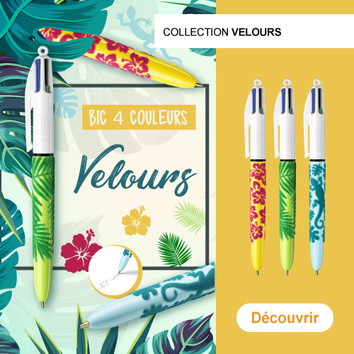 BIC 4 Couleurs - Edition velours
